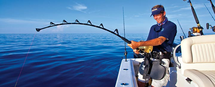 Springtime at vanco marine for Fishing rods and reels for sale used